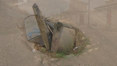 Bueiros sem tampa causam acidentes em Porto Velho - Bueiros sem tampa causam acidentes em Porto Velho.