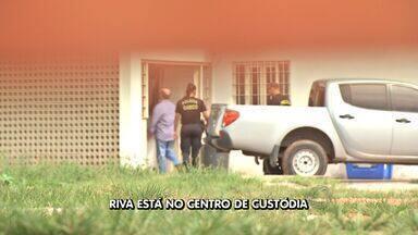 Após prisão, ex-deputado é encaminhado para Centro de Custódia - Após prisão, ex-deputado José Riva é encaminhado para Centro de Custódia em Cuiabá