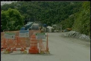 Obras de subida da Serra são retomadas nesta segunda-feira (23) - Obras de subida da Serra são retomadas nesta segunda-feira (23).