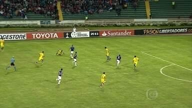 Cruzeiro estreia na Libertadores com empate contra Universitario-BOL - O placar foi de 0 a o.