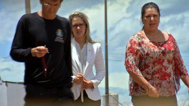 Familiares visitam ex-deputado José Riva na prisão em Cuiabá - Familiares visitam ex-deputado José Riva na prisão em Cuiabá.