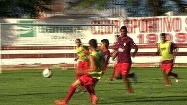 Sergipe está na reta final da preparação para o clássico contra o Itabaiana domingo - Sergipe está reta final da preparação para o clássico contra o Itabaiana no Batistão domingo