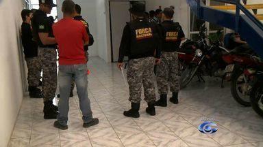 Operação da Força Nacional prende suspeitos de homicídios em Maceió - No total, nove pessoas foram presas.