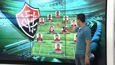 Veja os detalhes da preparação do Vitória para o clássico BAxVI de domingo (1) - Confira as notícias do rubro-negro baiano.