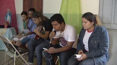 Jovens se preparam para quaresma - Jovens católicos da Zona Norte estão se reunindo em eventos preparatórios para a Páscoa. Os retiros são realizados na época da quaresma.