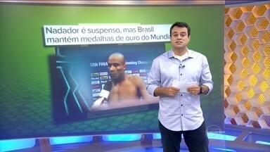 Nadador João Júnior é punido com seis meses de suspensão por doping - Federação Internacional de Natação mantém três medalhas brasileiras no Mundial de piscina curta com a participação do atleta.