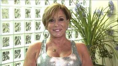 Susana Vieira lembra sua juventude na Ilha do Governador - A atriz fala sobre seu amor pelo sambódromo