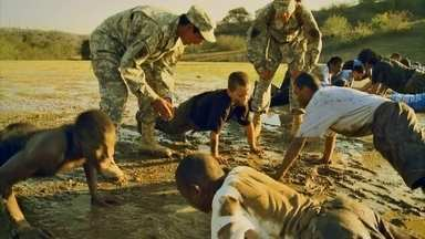 Regime militar para crianças gera polêmica nos Estados Unidos - Mercado movimenta US$ 2 bilhões por ano no país e gera dúvida sobre qual seria a melhor solução para o mau comportamento.