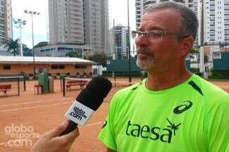 Entrevista com o pai do Feijão - Pao de tenista mogiano fala sobre início de carreira do filho.