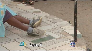 Carpina é palco de terceiro duplo assassinato em menos de um mês - Moradores da cidade pernambucana estão assustados com a violência.