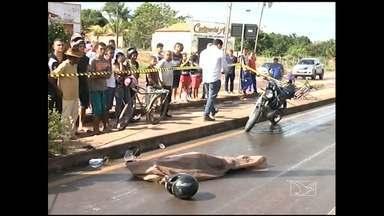 Uma pessoa morreu e outra ficou ferida em um acidente de trânsito em Imperatriz - Uma pessoa morreu e outra ficou ferida em um acidente de trânsito em Imperatriz.