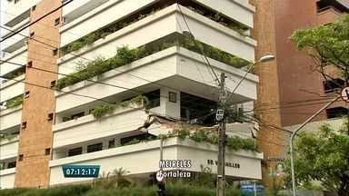 'Escoramento imediato' foi indicado em laudo horas antes de varanda cair - Moradores haviam solicitado parecer de engenheiro em Fortaleza. Uma pessoa morreu e duas ficaram ravemente feridas.
