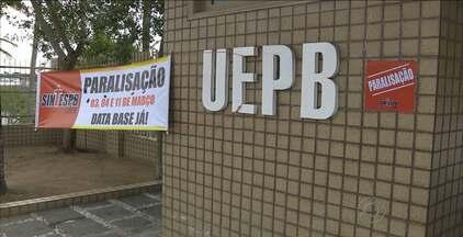 Servidores da UEPB paralisam os trabalhos nesta terça por reajuste de 27,5% - Uma reunião tratará das reivindicações da categoria às 10h.