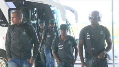Coritiba volta os olhos para a Copa do Brasil - Delegação do Coxa viajou na manhã desta terça-feira para Nova Lima, onde enfrenta o Villa Nova-MG