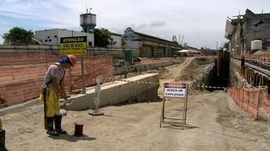 Obras na Zona Portuária do Rio fazem parte dos projetos de mobilidade para as Olimpíacas - As mudanças na região são diárias. A Zona Portuária é uma das regiões que passam pelas maiores mudanças.