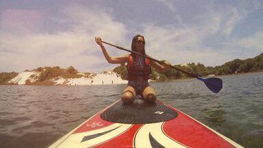 O Mosaico vai até o litoral Norte e encontra um paraíso - Renata Menezes faz um passeio pela incrível lagoa verde de Baixio.