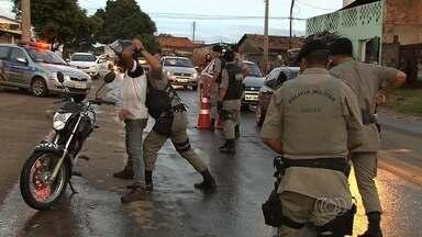 Polícias fazem operação contra tráfico de drogas e homicídios em Goiânia - As polícias Civil e Militar fizeram uma operação para combater os crimes na região sudoeste de Goiás.