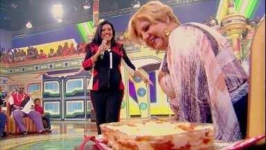 Lasanha dos Deuses! Eliana de Lima mostra um de seus dotes na cozinha - No clima do Esquenta!, lasanha é tida como um dos principais pratos do domingo