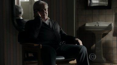 Silviano conversa com Fabrício Melgaço - Mordomo afirma que vai destruir José Alfredo