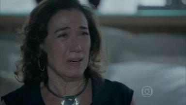 Maria Marta sofre por causa de José Pedro - Amanda e Du a acompanham