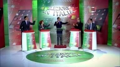 Acompanhe as emoções de um Debate Presidencial na Itália - Veja como os candidatos à presidência se comportam na telinha