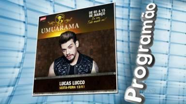 Veja aqui a programação de shows na Expô Umuarama neste fim de semana - É hora de aproveitar os últimos dias da festa.