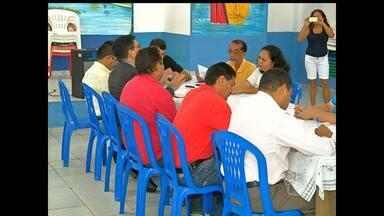Reunião discute possíveis consequências da construção de portos na Grande Área do Maicá - Representantes de entidade da pesca, moradores e sociedade civil estiveram presentes.