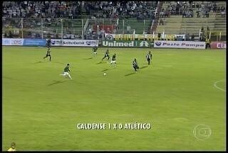 Caldense vence o Atlético por 1 x 0 - Times fecharam a sétima rodada do Campeonato Mineiro.