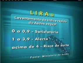 Confira as cidades do interior no Mapa da Dengue - LIRAa foi divulgado nesta quinta (12).