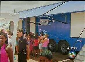 Ações do 'AB Cidadania' beneficiam moradores do Bairro José Carlos de Oliveira, em Caruaru - Foram mais de 40 serviços oferecidos gratuitamente à população.