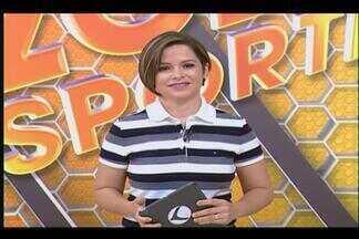 Globo Esporte - TV integração - 13/03/2015 - Confira íntegra do Globo Esporte, com Emilene Silva