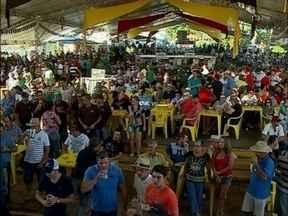 Festival da cuca com linguiça atrai milhares de visitantes em Victor Graeff,RS - A festa tem gastronomia típica alemã e música