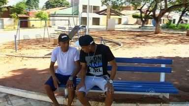 Núbio Flávio conta com apoio para boa fase no Icasa - Um dos artilheiros do Brasil tem seu pai como um dos grandes incentivadores da carreira