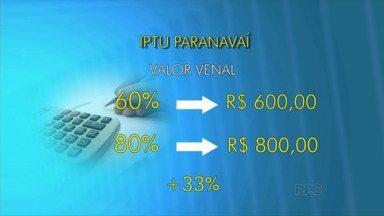 Vereadores de Paranavaí analisam projeto de lei para aumentar o IPTU - O projeto de lei do executivo quer reajustar os valores cobrados para o IPTU a partir do ano que vem.