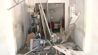 Explosão de banco em Camalaú-PB - Moradores acordaram de madrugada.