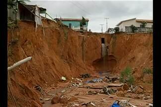 Governo Federal decreta emergência em Rondón do PA - Município sofre com a erosão no período de chuvas.