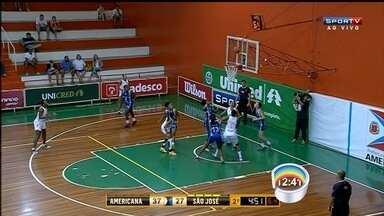 Pela Liga de Basquete Feminino, São José perde para o Americana - Fora de casa, joseenses perderam de 88 a 61.