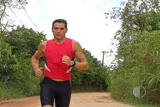 Atleta do Ironman de Mogi das Cruzes compartilha experiência e planos para 2015 - Tony Ferreira, de 18 anos, esteve recentemente na cidade para o bate-papo.