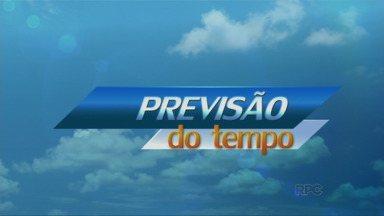 Previsão de chuva forte na tarde deste sábado em Londrina - Amanhã as chuvas continuam e a temperatura sobe ainda mais.