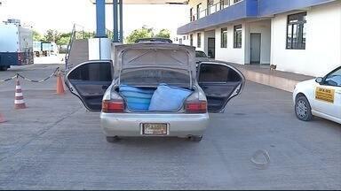 Receita Federal faz apreensão de mercadorias em Corumbá (MS) - Trilha clandestina tem sido utilizada para trazer esses produtos ilegais para o Brasil