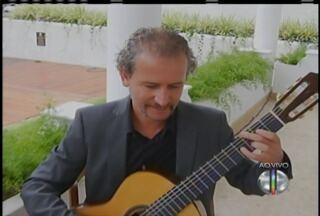 Concerto de violão acontece em Petrópolis, no RJ - Concerto de violão acontece em Petrópolis, no RJ.
