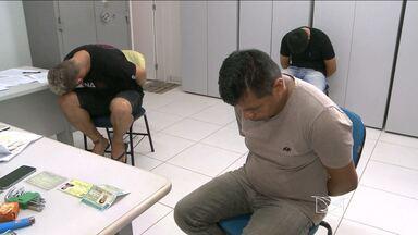 Três pessoas são presas com 35 kg de crack em São Luís - Três pessoas são presas com 35 kg de crack em São Luís