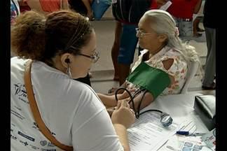 Em Belém, evento orientou sobre a importância de cuidar da saúde e prevenir doenças renais - No Pará, mais de 600 pessoas esperam na fila de transplante de rim.