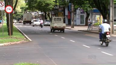 Doze pessoas já morreram nas ruas de Maringá em 2015 - Nove delas estavam de motocicleta