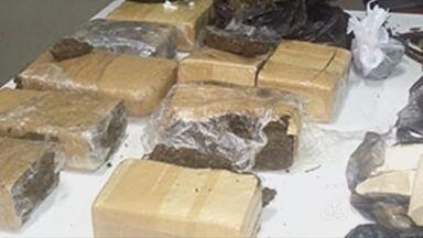 Polícia apreende 8kg de drogas em Parintins, no AM - Casal foi preso e drogas foram apreendidas em residência.