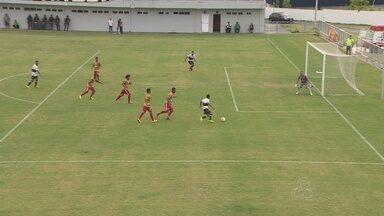 Rio Negro e Princesa do Solimões se enfrentam pelo Amazonense - Jogo foi realizado neste sábado; Canutama confirmou vitória com gol no fim do 2º tempo.