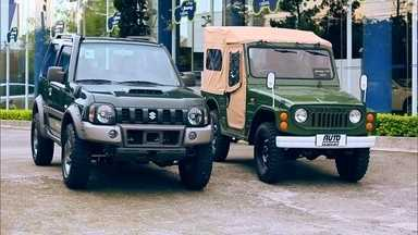 """Novos SUVs compactos chegam para agitar o segmento no Brasil - Renegade, HR-V e 2008 buscam a liderança do EcoSport. Os """"resistentes"""" Jimny e Troller seguem na trilha com DNA mais off-road."""