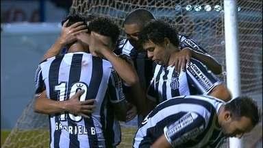 Santos goleia o Marília com show de Gabriel e Thiago Ribeiro - Diante do último colocado, Peixe mantém invencibilidade no Paulista