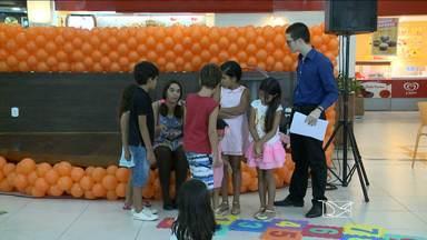 Procon realiza em São Luís campanha para alertar pais sobre consumo exagerado dos filhos - A lição foi passada de forma lúdica e os pequenos consumidores entenderam o recado.