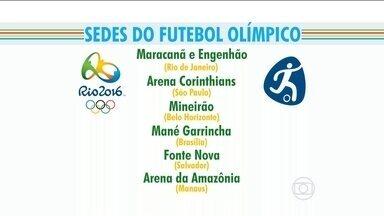 Fifa e Comitê Olímpico Internacional definem sete estádios para futebol nas Olimpíadas - Rio de Janeiro terá duas arenas: Maracanã e Engenhão.